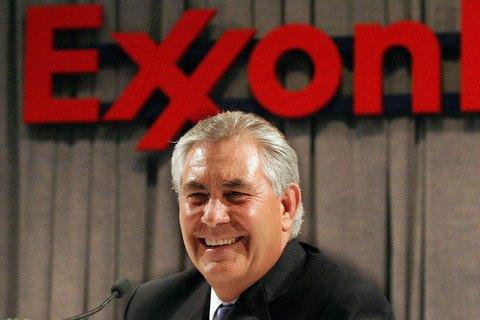 Кандидат на пост держсекретаря США відмовиться від частки в ExxonMobil