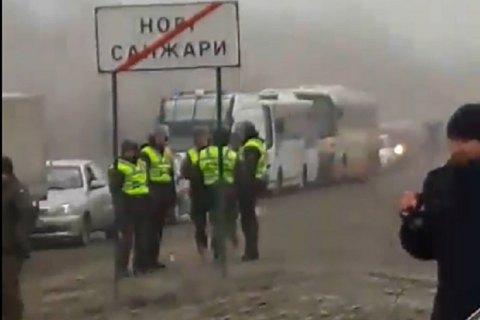 Для перевезення евакуйованих з Китаю підготували сім автобусів ДСНС