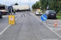 Внаслідок ДТП з чотирма автівками на Львівщині загинула 11-річна дівчинка