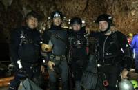 В операции по спасению детей, найденных в тайской пещере, участвовал дайвер из Украины