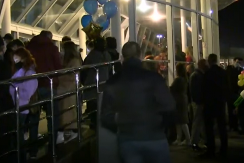В Украину прибыл борт с эвакуированными из Майями гражданами
