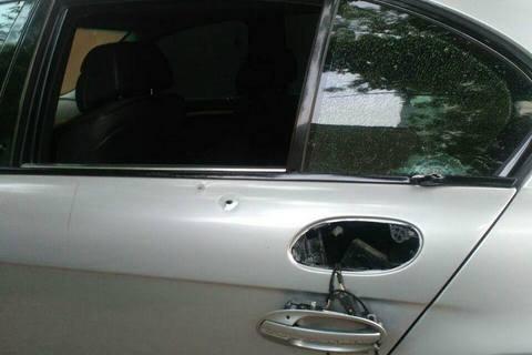 В Одессе патрульные открыли стрельбу по автомобилю с грабителями