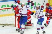 Несамовитий СКА вперше в історії КХЛ виграв серію після трьох поразок