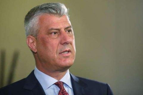 Спецпрокуратура в Гааге обвинила президента Косово Тачи в военных преступлениях