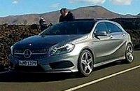 Mercedes-Benz A-Class попал в кадр без камуфляжа