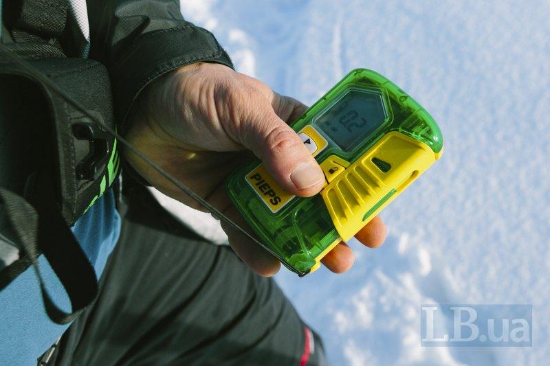 Pieps - датчик, за допомогою якого легше знайти людей під лавиною