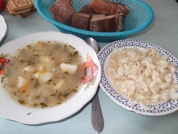 Безбелковый обед в одной из школ Черниговской области