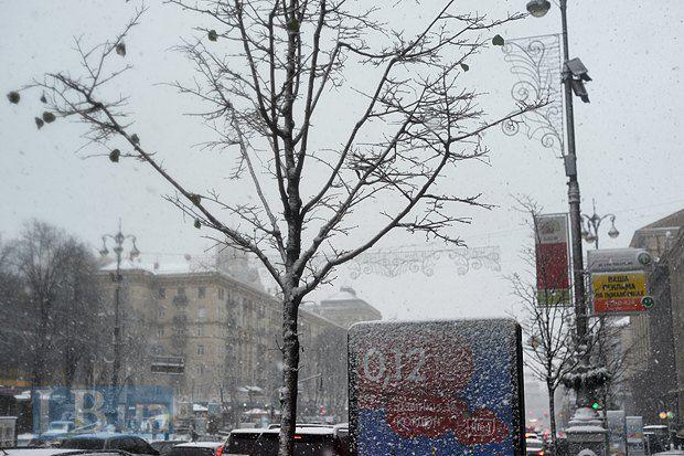 Снег Киеву к лицу