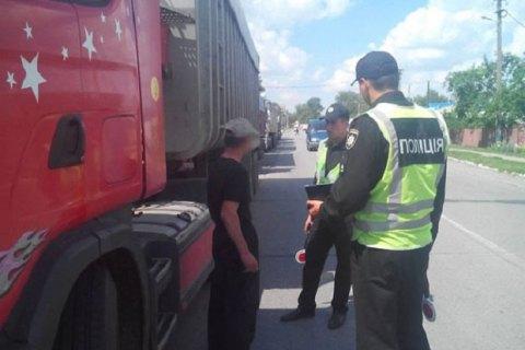 В Черниговской области задержали пять фур с львовским мусором