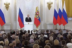 Путин: по факту, Крым сегодня может быть только российским