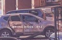 Біля будинку, в якому живе голова Харківської облради, підірвали автомобіль (оновлено)