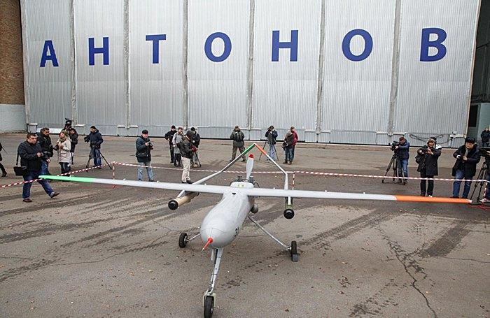 Презентація безпілотника 'Горлиця', розробленого державним підприємством 'Антонов'