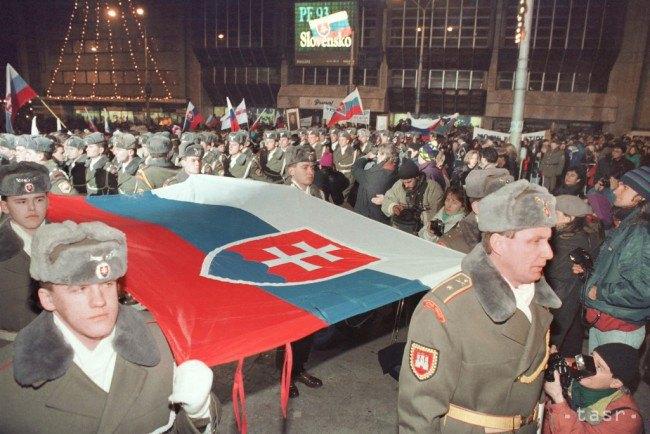 Братислава, 31 декабря 1992