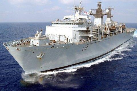 Британія направила фрегат стежити за російським військовим кораблем