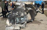 Рада приняла заявление в связи с катастрофой самолета МАУ в Иране (обновлено)