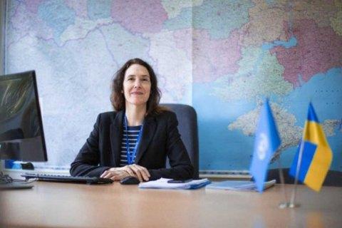 Денисова передала главе мониторинговой миссии ООН Богнер дела по политзаключенным