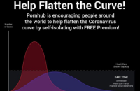 Pornhub из-за коронавируса сделал бесплатной премиум-подписку