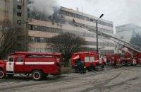 В Киеве есть всего одна пожарная лестница, достающая до 30-го этажа