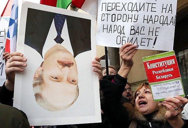 Лукашенко обвинил ворганизации протестов «западные фонды»
