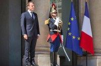"""Макрон: переговоры """"нормандской четверки"""" пройдут в конце июня - начале июля"""