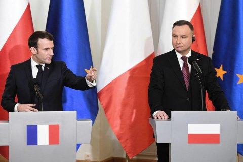 """Франція пригрозила Польщі """"серйозними наслідками"""" через вихід із Стамбульської конвенції"""