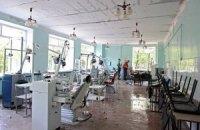 В результате артобстрела больницы Донецка погиб один человек и ранены трое, - СНБО
