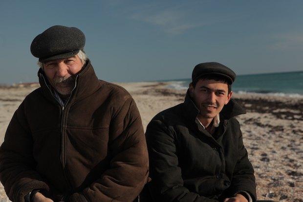 Нариман и Ильяс Беляловы, фото со съемок фильма