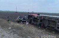 У Борисполі під час зіткнення легковика з вантажівкою загинуло троє людей