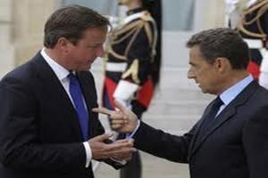 Саркози обвинил Кэмерона в провале саммита ЕС