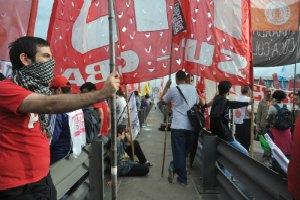 В Аргентине прошла всеобщая забастовка