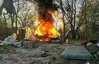 Голова поліції Києва заявив, що на Лисій горі спалили сміття на суботнику, а не табір ромів
