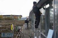 """Відкриття станції метро """"Іподром"""" почалося з пікету"""