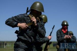 В Красноармейске войска Нацгвардии взяли под охрану горсовет и милицию
