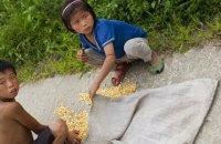Над КНДР нависла загроза голоду