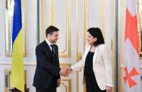 Президент Грузии: мы должны объединить позиции Украины и Грузии по курсу на евроинтеграцию