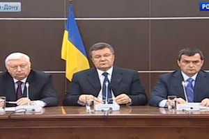 Янукович, Пшонка і Захарченко зібралися в Ростові, щоб висловити стурбованість долею України