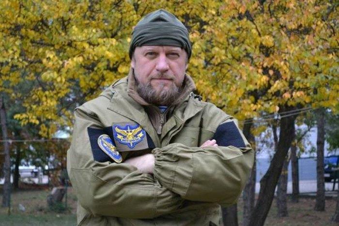 Глава организации воинов-афганцев 'Никто кроме нас' Александр Ковалев