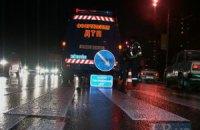 У Києві на вулиці Мельникова Ford насмерть збив чоловіка на пішохідному переході