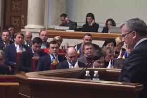 Коморовский не видит свободной Европы без Украины