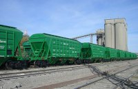 Майже 800 гривень на тонні зернових втрачають аграрії через колапс на залізниці, - Козаченко