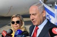 Сара Нетаньяху устроила скандал в самолете по пути в Киев