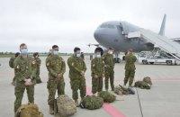 В Украину прибыли 90 канадских военных