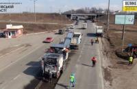 В Харькове начался масштабный ремонт объезда города на трассе М-03