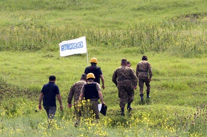 Миссия ОБСЕ проводит мониторинг режима прекращения огня на линии соприкосновения вооруженных сил Нагорно-Карабахской Республики и Азербайджана.