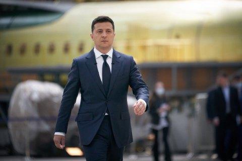 Зеленський увів у дію рішення РНБО про розвиток авіапрому