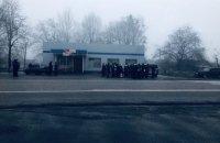 На Харьковщине митингующие перекрывали дорогу из-за повышения тарифов на газ
