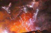 Вулкан у Японії викинув стовп попелу