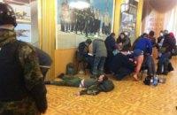 Активісти зайняли Будинок офіцерів