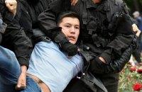 В Казахстане в день выборов задерживают митингующих против избрания преемника Назарбаева