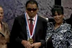 Боксер Мохаммед Али награжден медалью Свободы